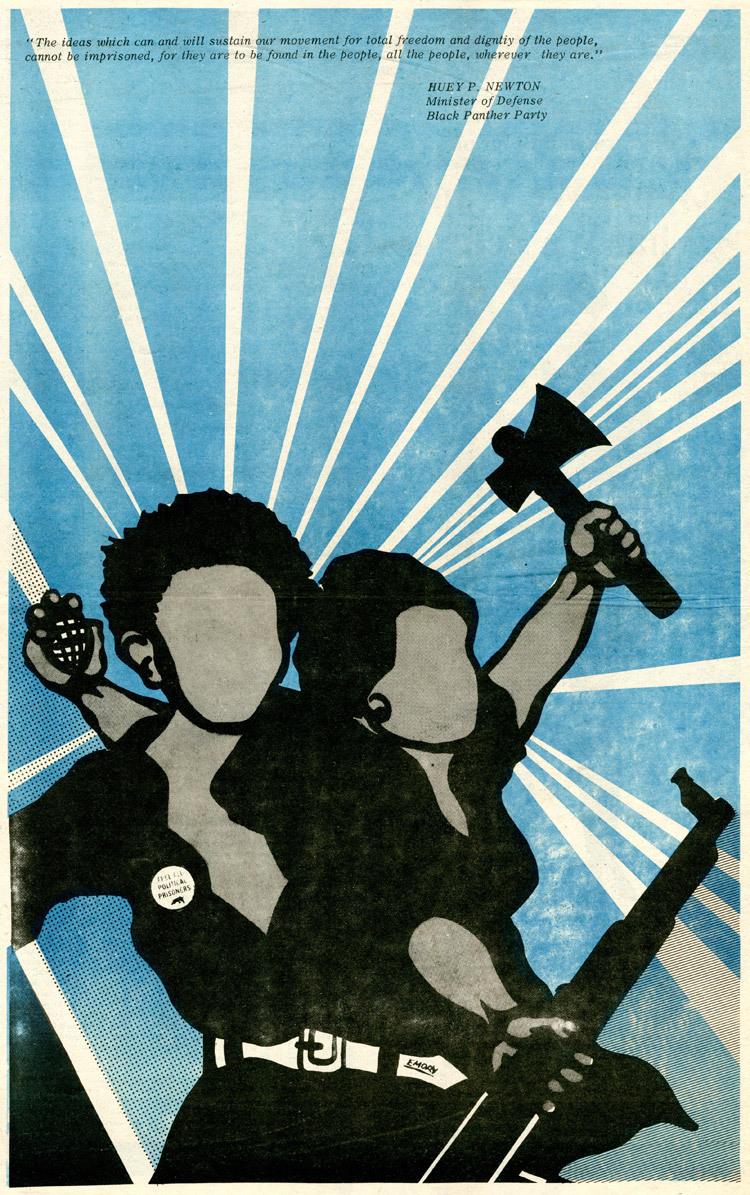 Affiche BPP 3 - Emory Douglas