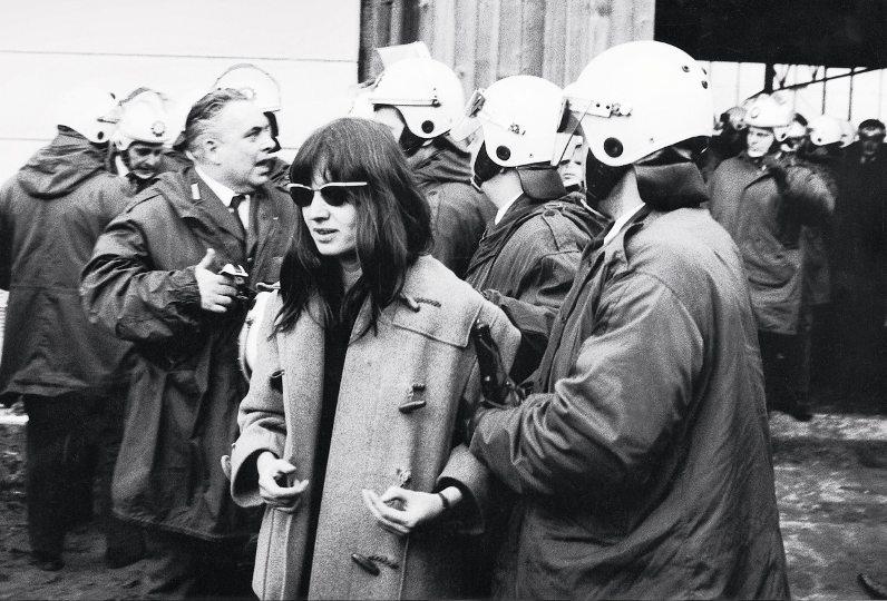Journalistin Meinhof in Westberlin 1970