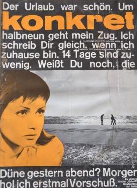 Konkret Nr.9, 1963