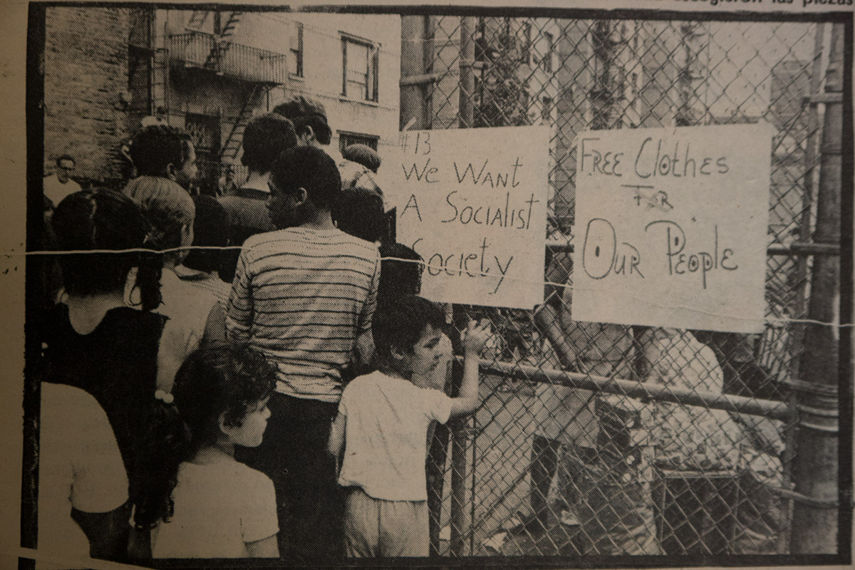 We Want a Socialist Society (Young Lords)