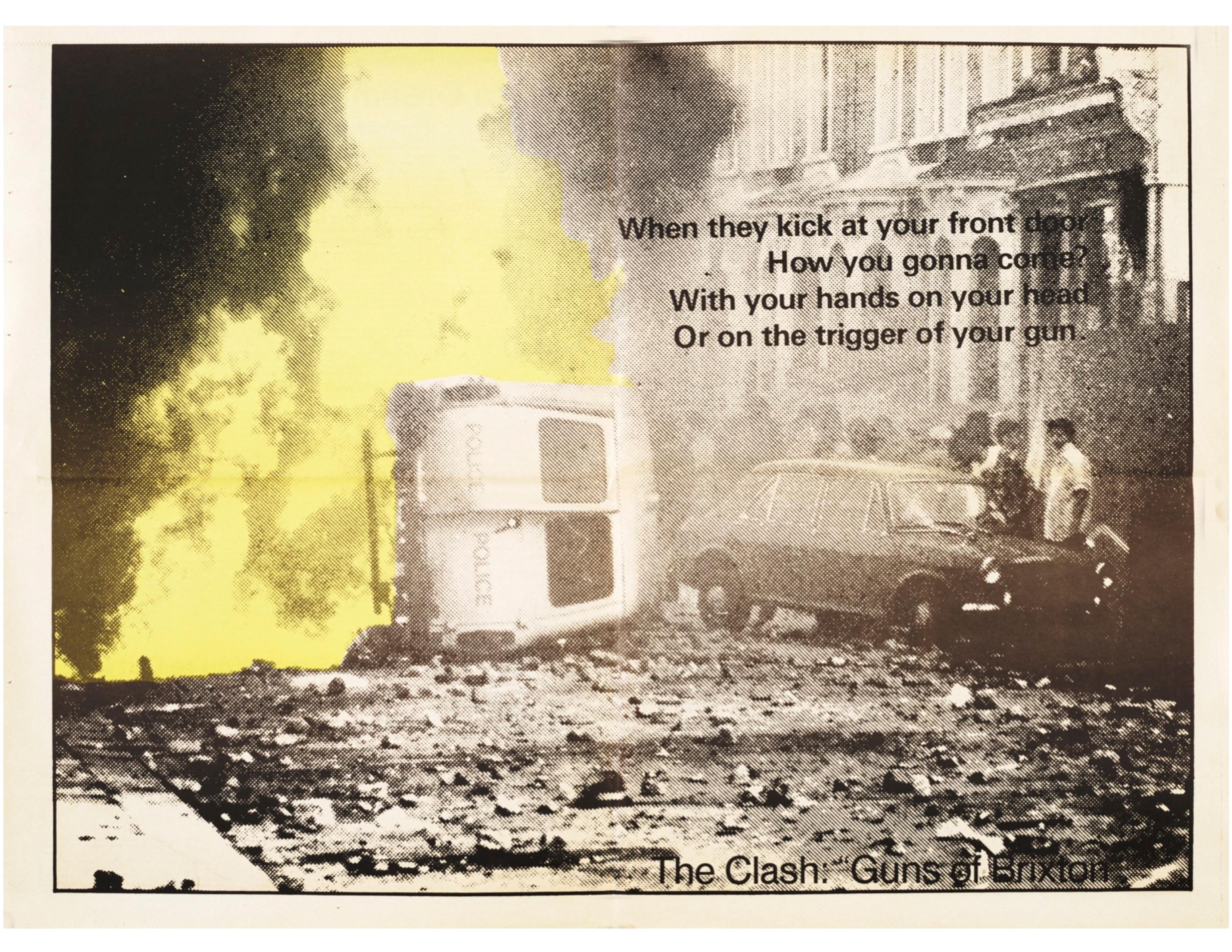 Open Road - Numero 14 - Été 1982 - The Clash-Guns of Brixton