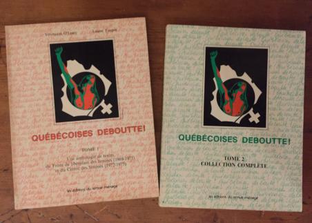 québécoises - anthologie