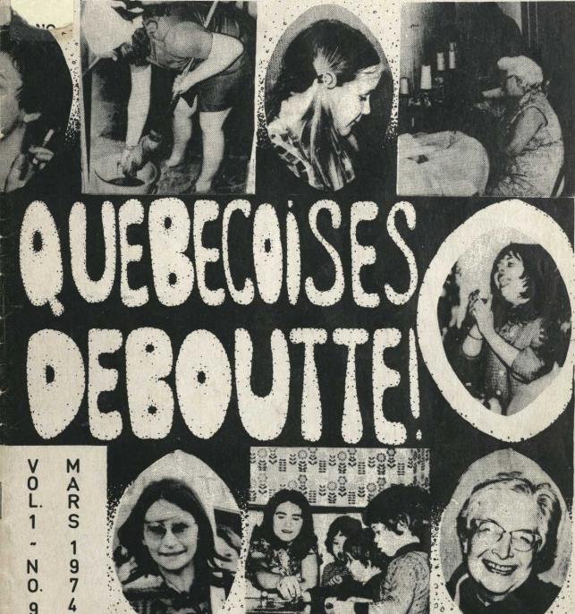 Quebecoises Deboutte - mars 1974
