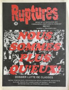Ruptures - NEFAC - 2003