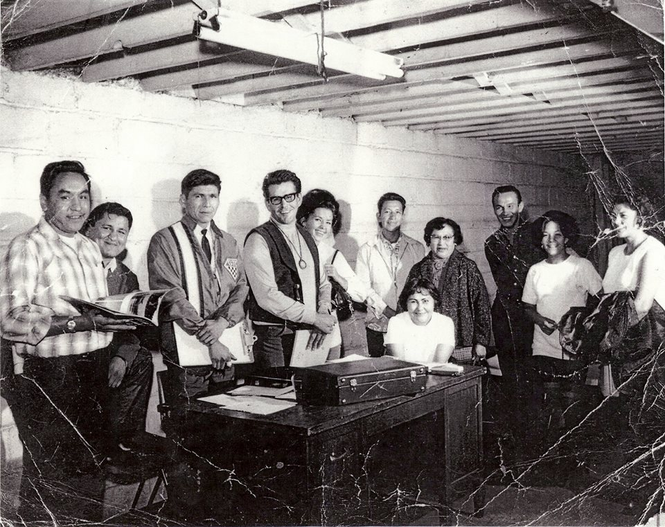 AIM's founding Board, Minneapolis, 1969