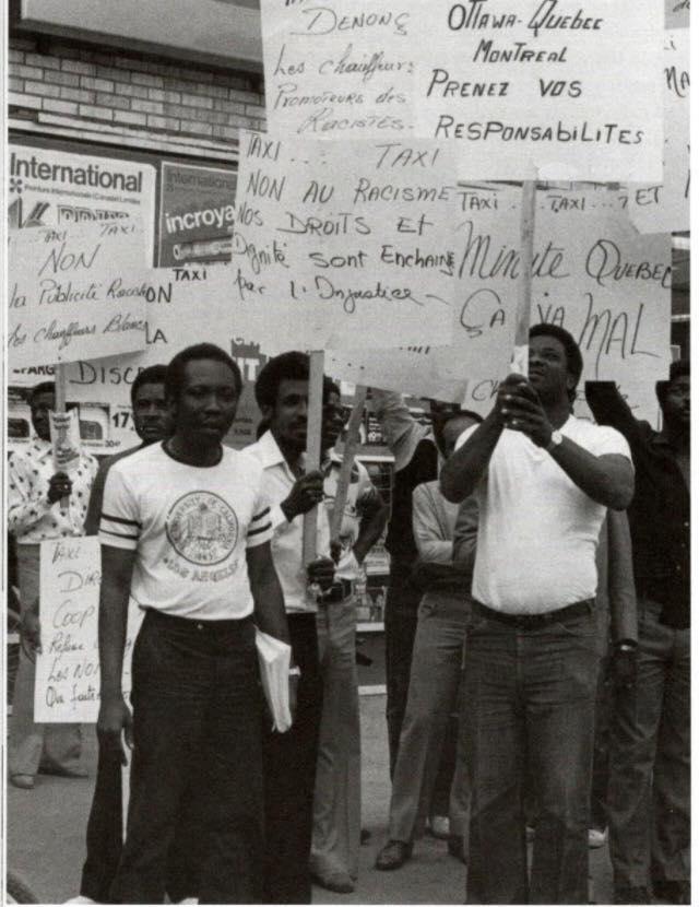 Grève contre le racisme dans le taxi (juin 1983)
